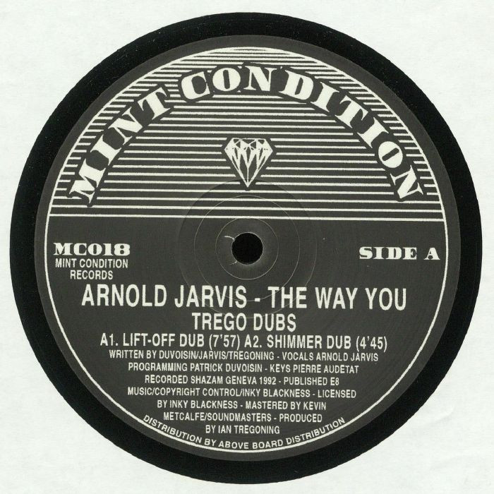 ARNOLD JARVIS - The Way You (Trego Dubs) (LP)