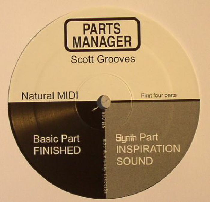 SCOTT GROOVES - Parts Manager (Pre Order)