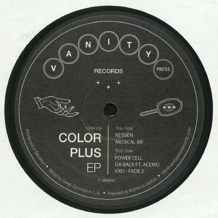 COLOR PLUS - Color Plus EP