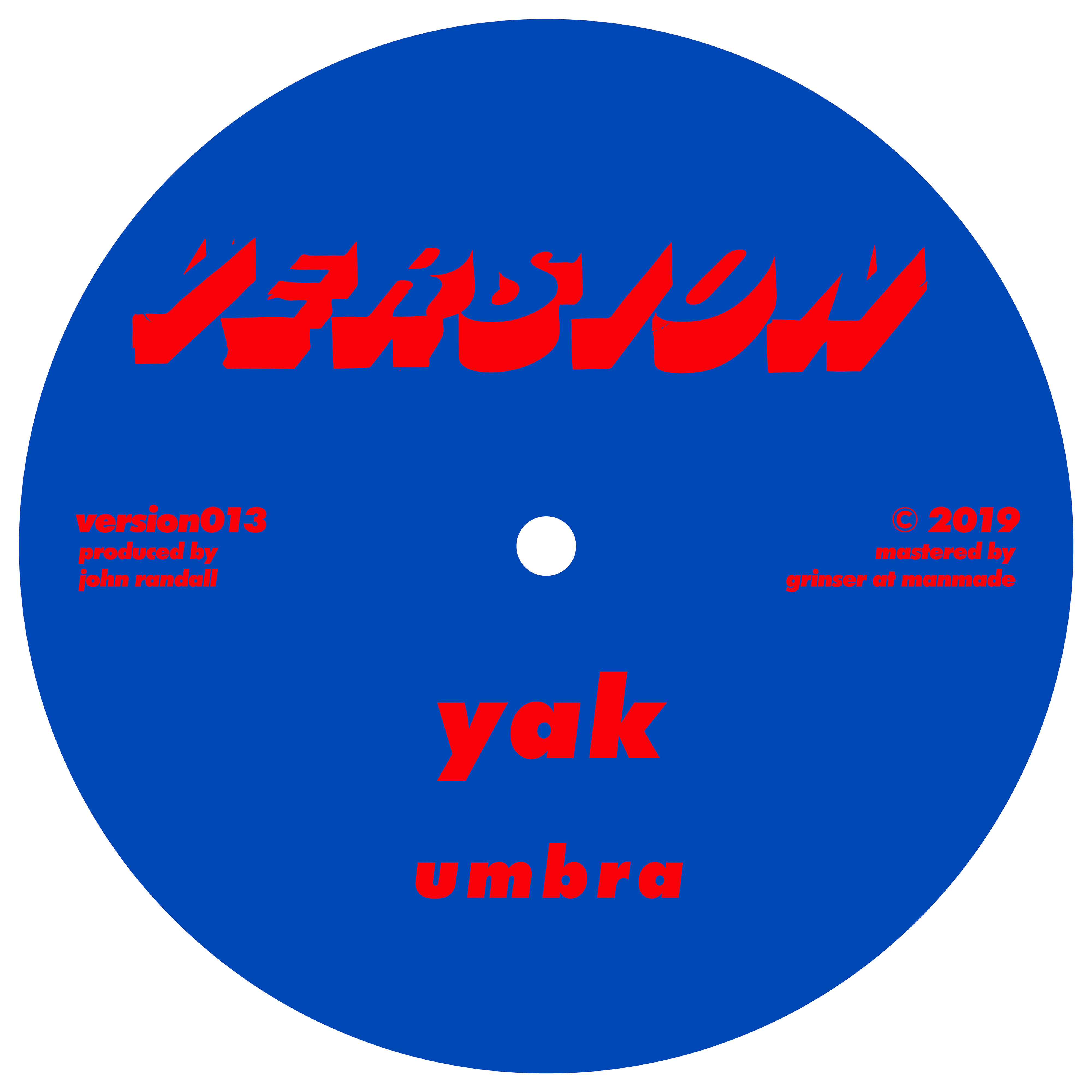 yak, versions, bass, dub, broken, vinyl